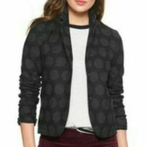GAP Gray Dot Academy Blazer
